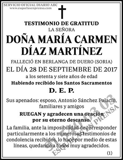 María Carmen Díaz Martínez